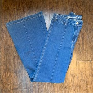 Abercrombie and Fitch Wide Leg Jean